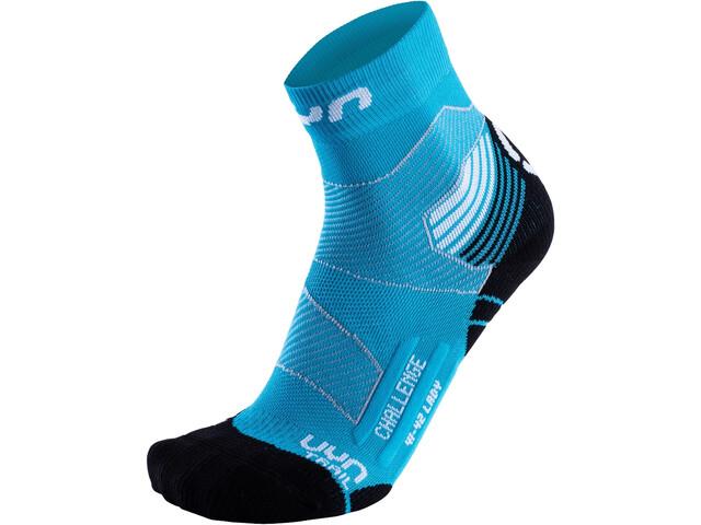UYN Run Trail Challenge Sokken Dames, turquoise